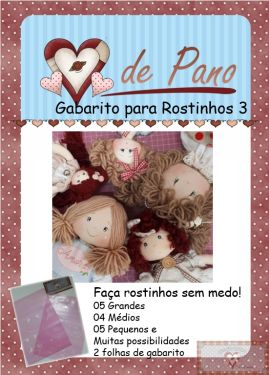 GABARITO PARA ROSTINHO III - MAIS RÁPIDO E MAIS FÁCIL