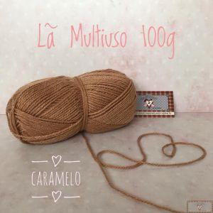 LÃ MULTIUSO 100G  VII - CARAMELO