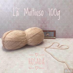 LÃ MULTIUSO 100G I - ROSADA