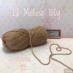LÃ MULTIUSO 100G IV - CASTANHO CLARO