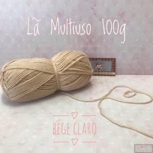 LÃ MULTIUSO 100G II - BEGE CLARO