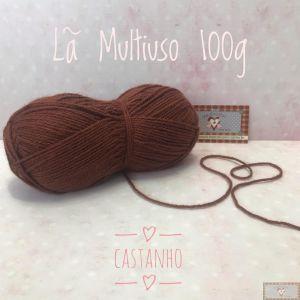 LÃ MULTIUSO 100G VI - CASTANHO