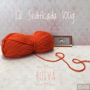 LÃ SEDIFICADA 100G II - RUIVA