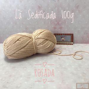 LÃ SEDIFICADA100g VI - ROSADA