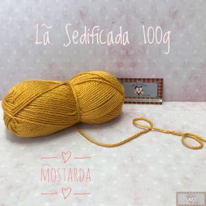 LÃ SEDIFICADA 100G III - MOSTARDA