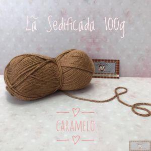 LÃ SEDIFICADA 100G IV - CARAMELO