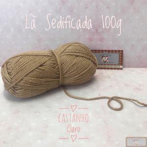 LÃ SEDIFICADA 100G V - CASTANHO CLARO