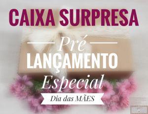 CAIXA SURPRESA MARÇO - ESPECIAL DIA DAS MÃES (GANHE 1 WORKSHOP ONLINE!)