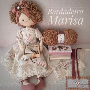 KIT DE MATERIAL BORDADEIRA MARISA (SEM PROJETO)