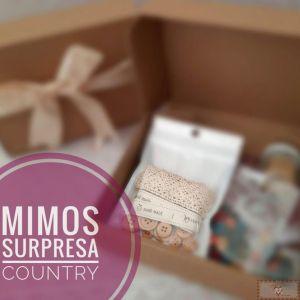 CAIXA MIMOS SURPRESA - ESPECIAL COUNTRY