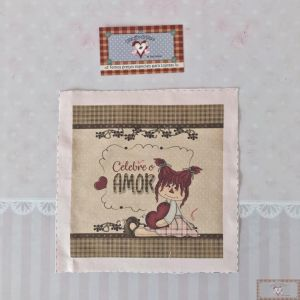 PAINEL DECORADO III - CELEBRE O AMOR (19CM)