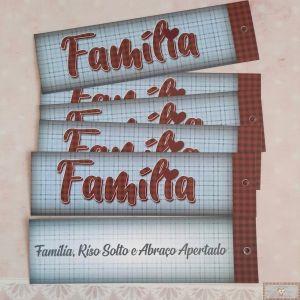 MARCA PÁGINA - FAMÍLIA - 5UN