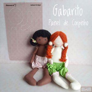 GABARITO DO PAINEL DE CORPINHO - 40CM