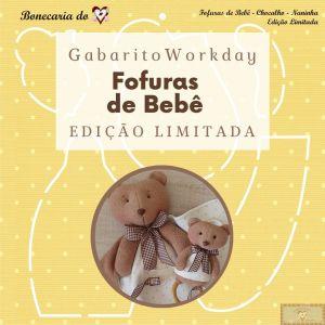 GABARITO FOFURAS DE BEBÊ - WORKDAY 3 - EDIÇÃO LIMITADA!!