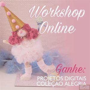 Workshop Online Palhacinha com Bola + Ganhe Combo Projetos Alegria